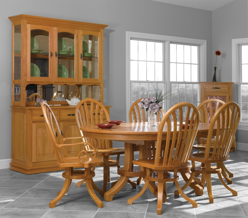 Apple creek furniture for Complete dining room sets